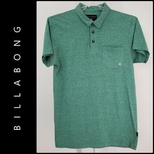 Billabong Men Short Sleeve Polo Shirt Size Medium